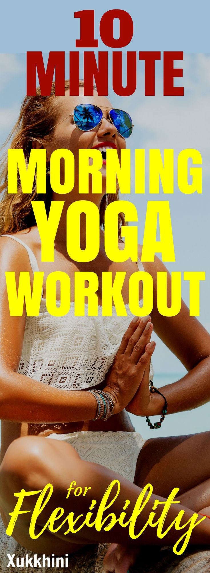 We all need that morning energizer. But rather than reach for the caffeine, why not try the world's oldest workout? This 10-minute morning yoga workout for flexibility will: Engage your muscles, Loosen joints, Relieve tension, Calm your mind and Wake you up! Best of all, its powerful effects will sustain you all day long. #MorningYogaWorkout #MorningYogaWorkoutForFlexibility | Yoga for Beginners | Yoga Poses for Flexibility | Yoga Routine for Flexibility