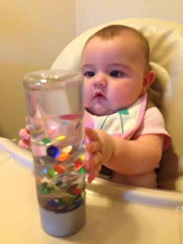 For the Love of Learning: Baby's 1st Sensory Bottle