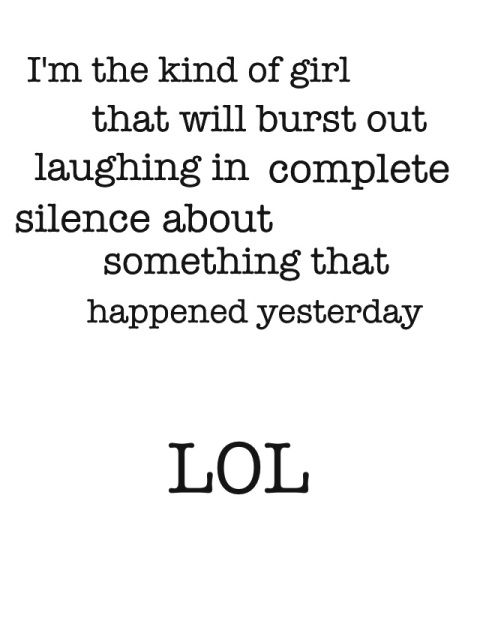 I have done this more times than I can count...and when it happens, I feel so weird....:) LOL