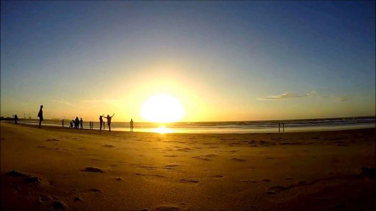 Sunset at Hoek Van Holland beach with GoPro Hero 3+ Timelapse HD