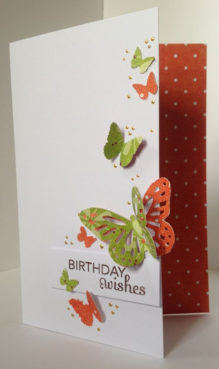 The coloring book of cards and envelopes flowers and butterflies - Love The Simplicity Of The Layout Trim Off The Right Front Of Card So Butterflies Overlap The Cut Edge Use Trellis Die Behind Butterflies