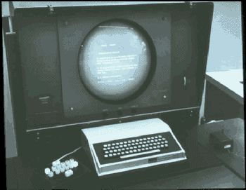 Douglas Engelbart's Workstation 1966 - Keyset, keyboard, monitor, mouse