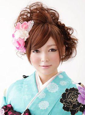 振袖にぴったり!成人式の髪型・ヘアアレンジカタログ - M3Q - 女性のためのキュレーションメディア