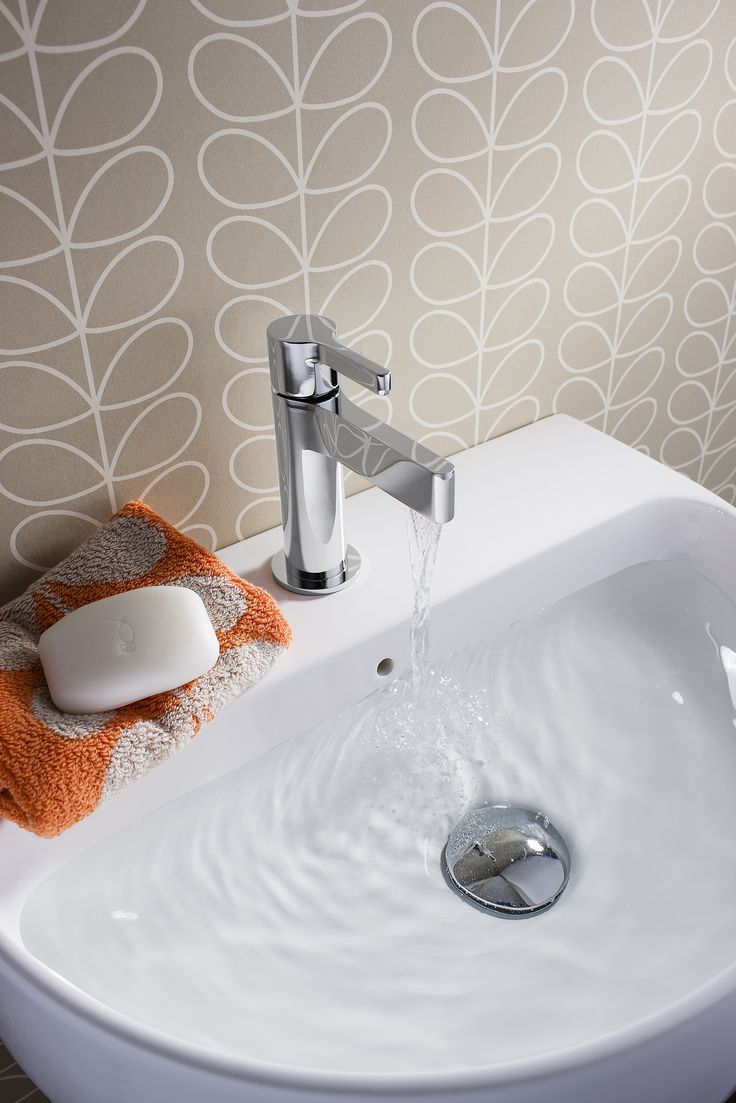 Svelte Mini Monobloc Bathroom Basin Tap from Crosswater http://www.crosswater.co.uk/product/svelte/svelte-mini-basin-monobloc-se114dnc/