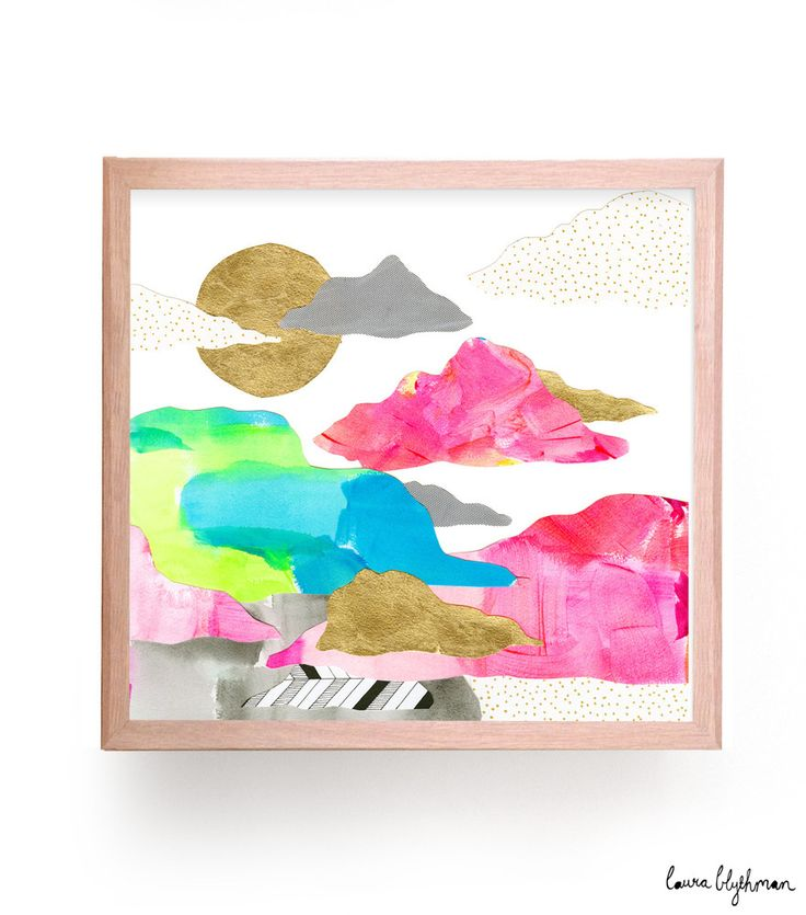 Limited Edition Print // Cloud Busting by Laura Blythman