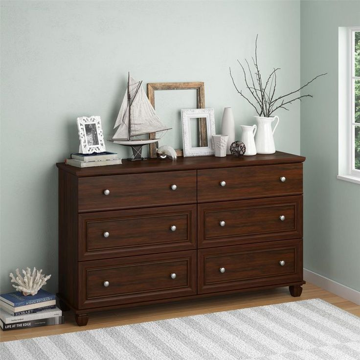 Altra Hanover Creek 6 Drawer Dresser By Ameriwood Home