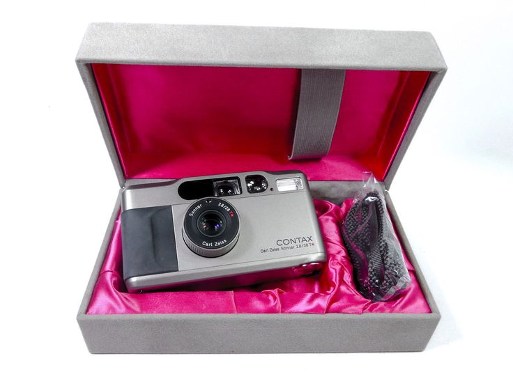 Contax T2 Point and Shoot Film Camera 67215001987   eBay