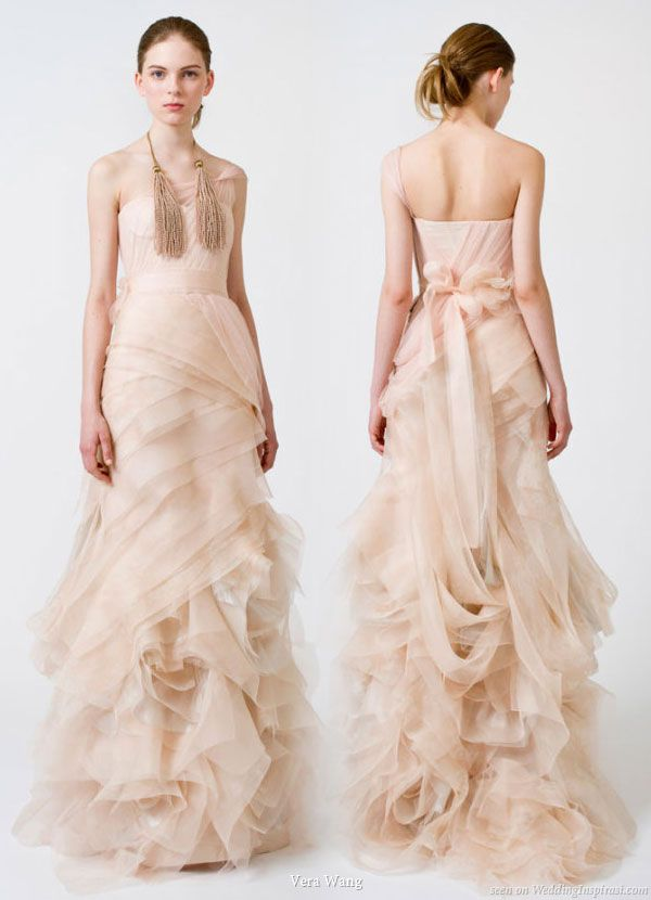 17  images about Colorful Wedding Gowns on Pinterest - Vera wang ...