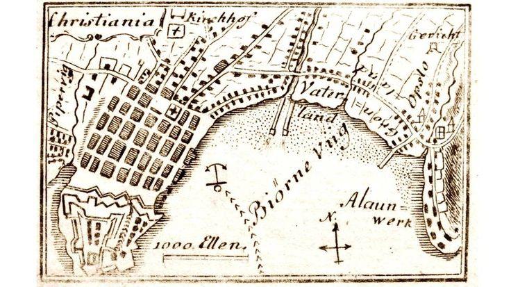 Han har kartlagt Christianias karthistorie - osloby