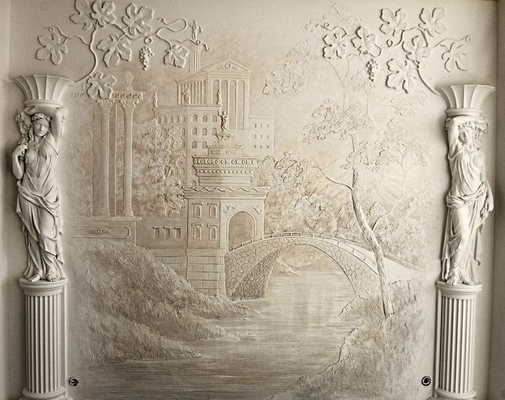 757 best images on pinterest plaster art plaster for Plaster wall art