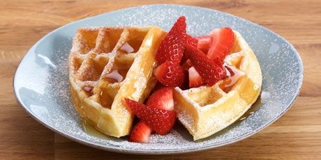 Big Buttermilk Breakfast Waffles