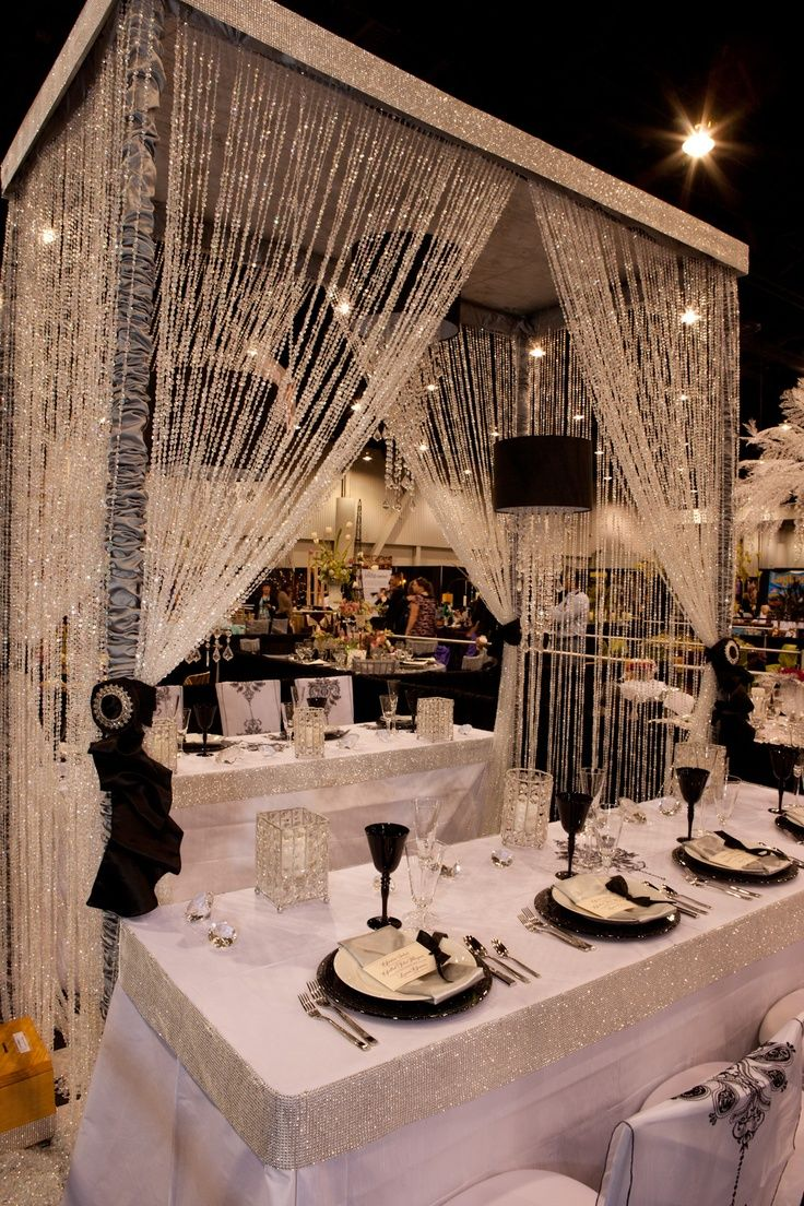 86 best wedding decoration images on pinterest wedding ideas wedding receptioncelebrity glamour tabletop entry by fearon may events 2012 idea factory junglespirit Images