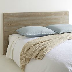 Grimsby Solid Pine Aged Effect Headboard La Redoute Interieurs - Bedroom…