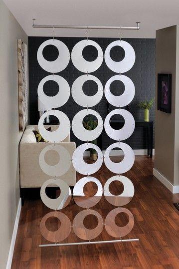 Sotto Condo Room Divider - easy way to creat an area