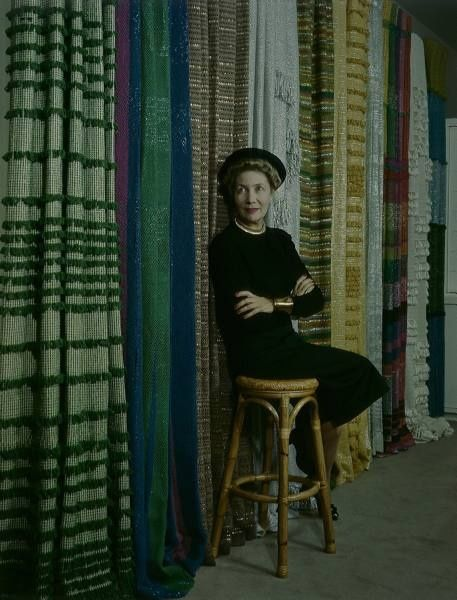 Dorothy Liebes, Textile Designer (via Artistas)