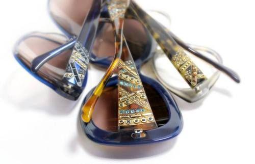 Judith LeiberEyewear   Marquetry Collection