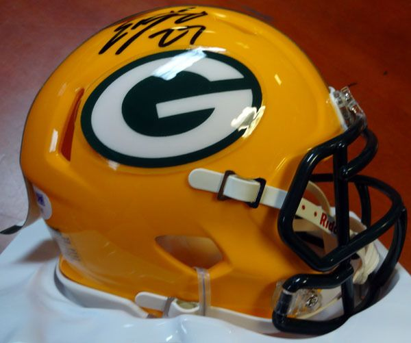Eddie Lacy Autographed Green Bay Packers Speed Mini Helmet PSA/DNA Stock #100333