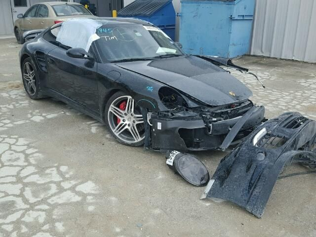 Salvage 2007 Porsche 911 Turbo Coupe For Sale   Salvage Title
