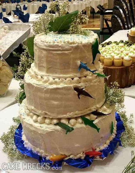 Brutalist Wedding Cake