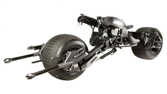 Batman's Batpod Is For Sale and It's Pretty Freaking Cool…