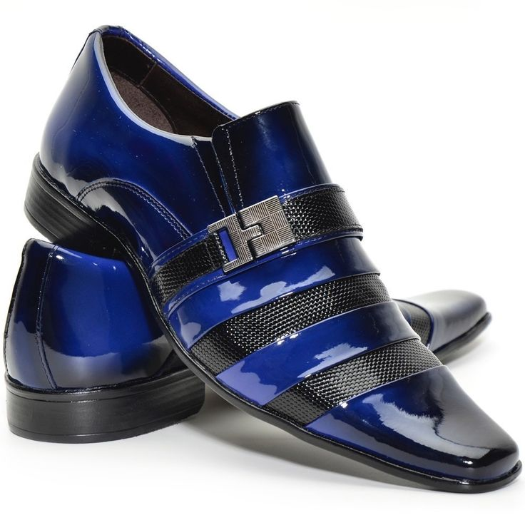 Sapato Social Masculino Em Couro Verniz Vinho/sapatofran - R$ 169,99 no MercadoLivre