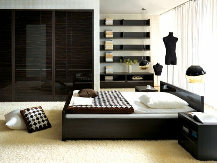 137 best Schlafzimmer Inspirationen images on Pinterest Bedroom - schlafzimmer modern braun