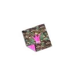 Filt - Padded Blanket - Camouflage/Pink - Roliga Nappar