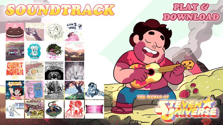 the-world-of-steven-universe: Now you can Play or Download all the soundtrack of Steven Universe. ENJOY!! (ALL SOUNDTRACKS INCLUDE: COVER, THEIR INFO, AND ARE COMPATIBLE WITH ANY MEDIA PLAYER) SOUNDTRACK AVAILABLE: *We are the Crystal Gems (Main Title) *Ending Theme *Cookie Cat *Pearl's Theme *Steven's Shield *The Mother *Dad Museum *Let Me Drive My Van (Into Your Heart) *Water Damage *Drop the Strawberry *The Waterfall *Gimme Gimme *That's Unusual! *Peedee's Blues *Strawberry…