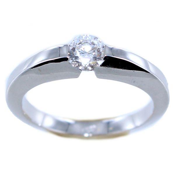 Solitaire diamant suspendu (0.50 carat)