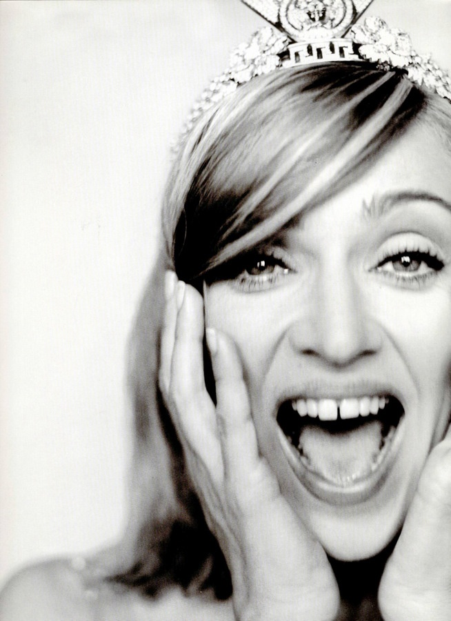 Singer Madonna. Born Madonna Louise Veronica Ciccone 16 August 1958, Bay City, Michigan,