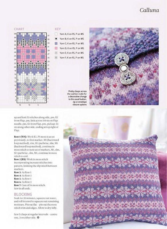 346 best Fair Isle images on Pinterest | Fair isles, Knitting ...
