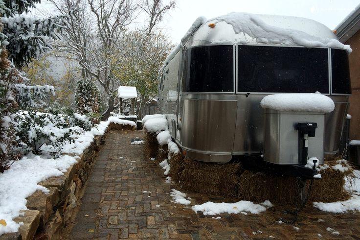 Luxury Airstream Rental Close to Downtown Asheville, North Carolina