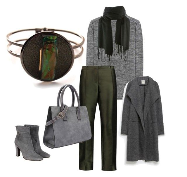 """""""Untitled #106"""" by naginy on Polyvore featuring Vince, Vilshenko, L'Autre Chose, Zara, women's clothing, women, female, woman, misses and juniors"""