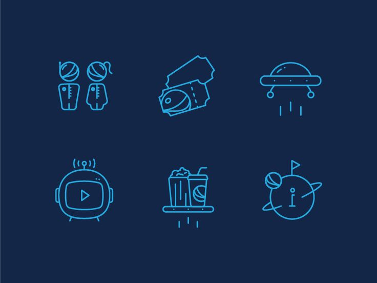 Space icons by Pumpkin Juice