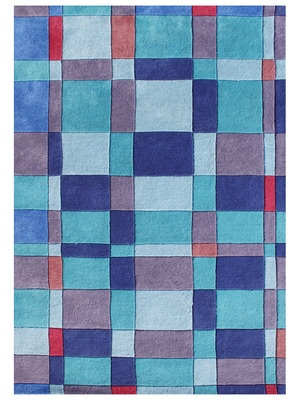 Tiles Hand-Tufted Rug by Horizon Rugs on Gilt Home