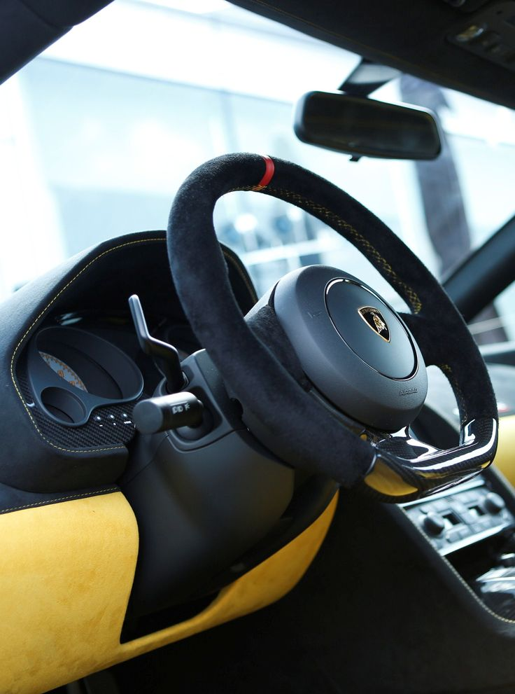 Lamborghini Gallardo LP 570-4 Squadra Corse Steering Wheel ...