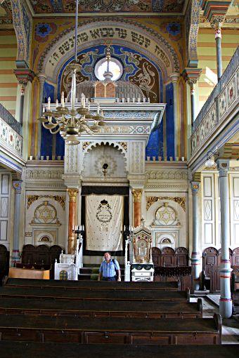 Presov synagogue interior