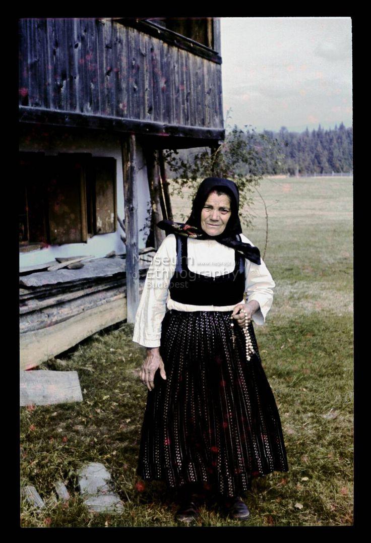 Szekler Woman, NHA Néprajzi Múzeum   Online Gyűjtemények - Etnológiai Archívum, Diapozitív-gyűjtemény