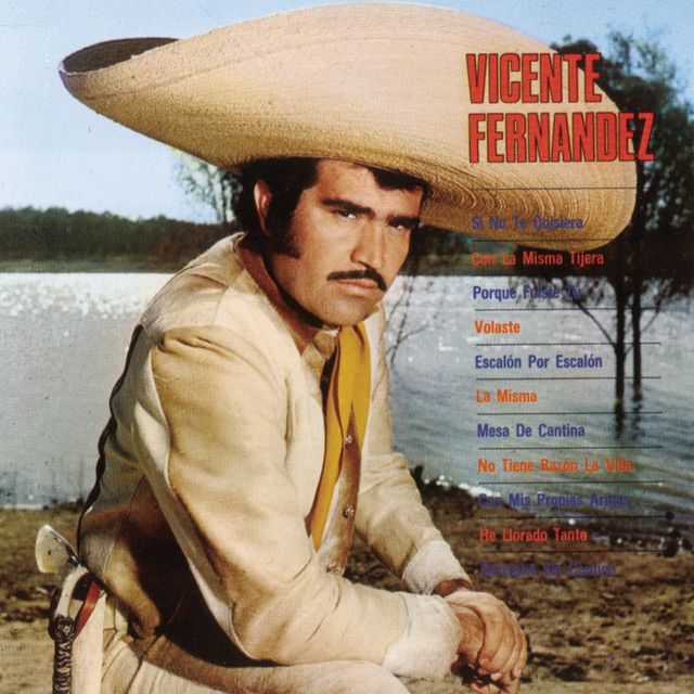 """La Misma"" by Vicente Fernandez was added to my Faixas do Shazam playlist on Spotify"