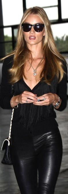 All black. - Want to save 50% - 90% on women's fashion? Visit http://www.ilovesavingcash.com
