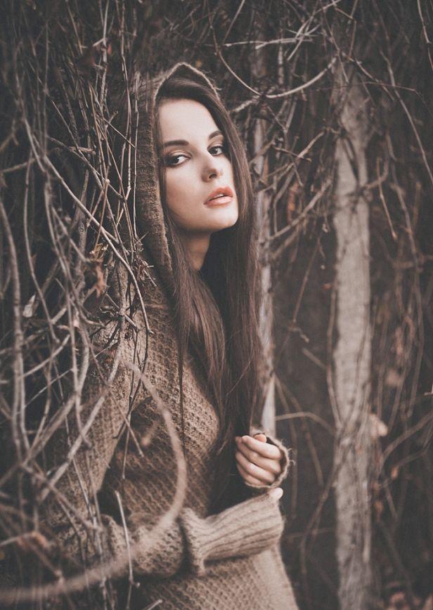 Samantha green в лесу