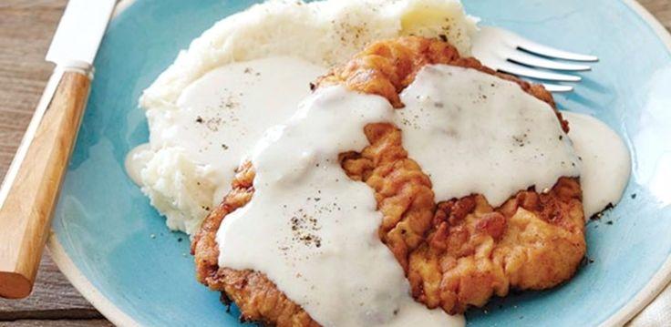 Chicken Fried Steak with Gravy By Ree Drummond