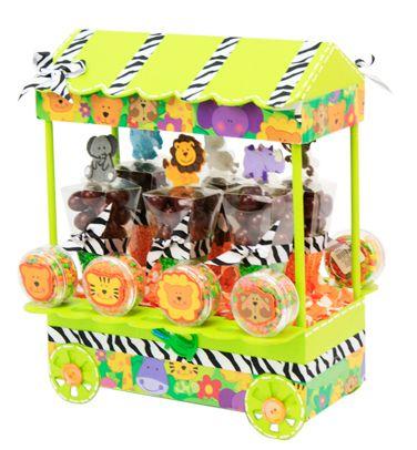 Despachador de dulces. la mejor idea para decorar tus fiestas infantiles