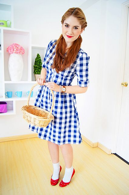 DIY Halloween Costume: Dorothy from Wizard of Oz | Flickr - Photo Sharing!