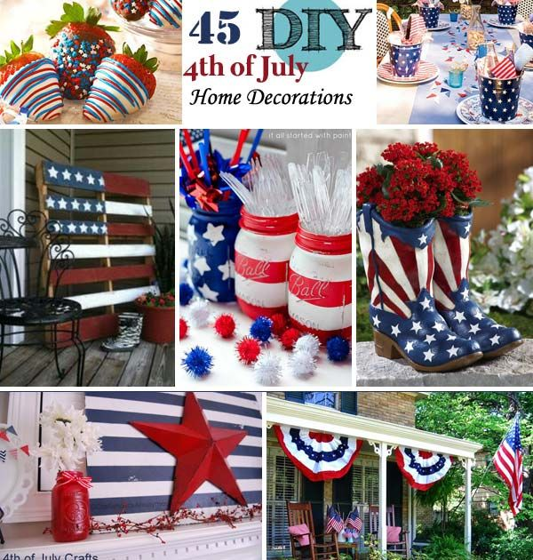 45 Decorations Ideas Bringing The 4th of July Spirit Into Your Home