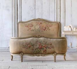 c. 1900 Antique French Bed