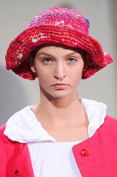 Daniela Gregis at Milan Fashion Week Spring 2014 - Details Runway Photos