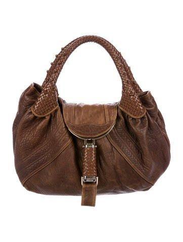 ac0d2263487a  Spring  AdoreWe  The RealReal -  Fendi Fendi Leather Spy Bag - AdoreWe