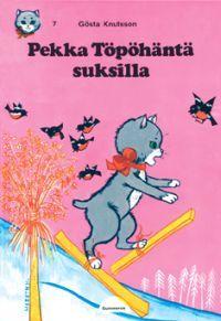 Pekka Töpöhäntä suksilla - kirja