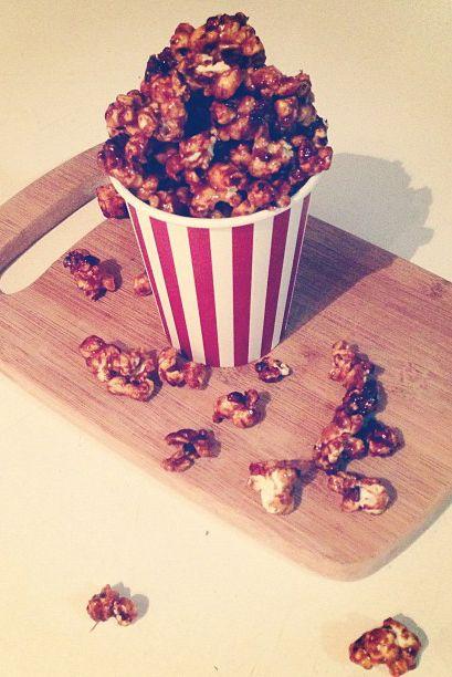 Loving Earth - Recipes - Chocolate Caramel Popcorn